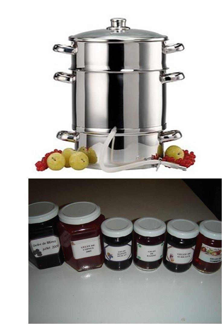 Gelee de mures pommes et pommes rhubarbes - Gelee de pommes avec extracteur de jus ...